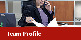 Woman on Phone - Executive Search